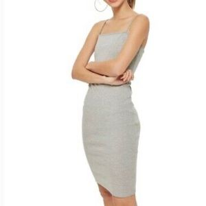 Topshop thinstrap bodycon tankdress NWT sz…